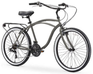 4. SIXTHREEZERO Men's Beach Cruiser Bike