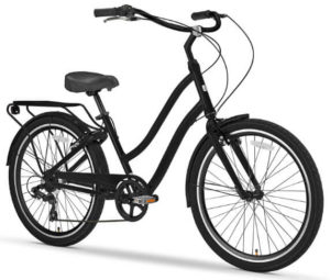 EVRYjourney Men's Single Speed Hybrid Bike