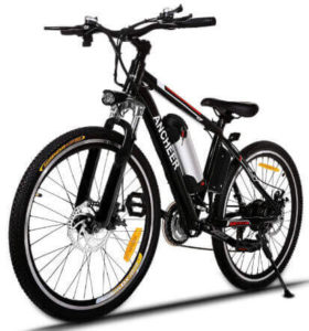ANCHEER Electric Mountain Bike - Best affordable electric bike