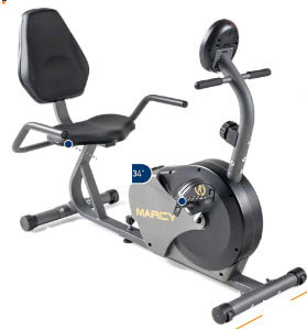 Marcy Magnetic NS-716R Recumbent Bike Review