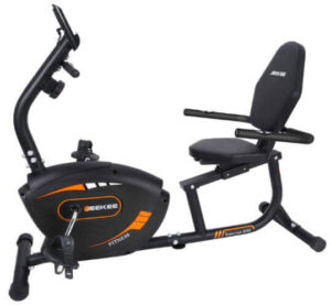 JEEKEE Indoor Cycling Bike – Best Recumbent Bike for Seniors