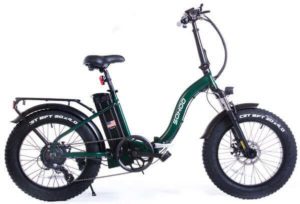 SOHOO Folding Fat Tire Electric Bike