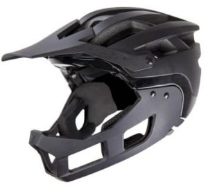 Demon United FR Link System Mountain Bike Helmet Fullface with Removable Chin Guard